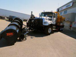 Freightliner 114 SD 2021 équipement à neige snow plow tenco