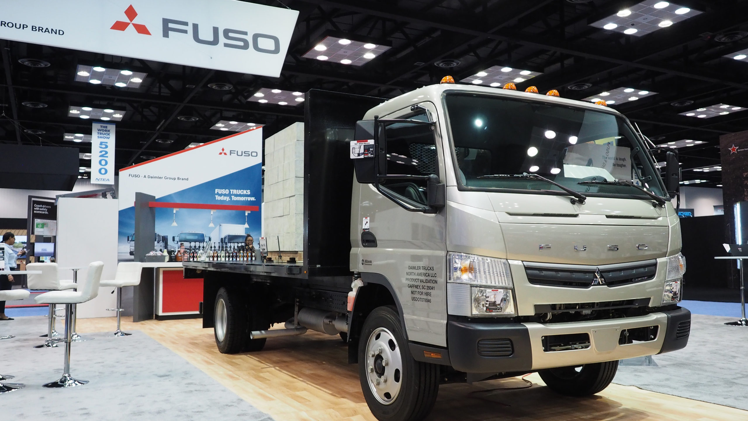 camion fuso essence