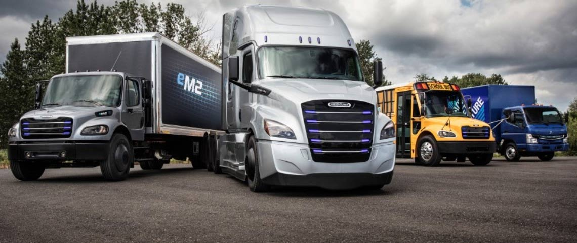 E-Mobility Group: new Freightliner innovations
