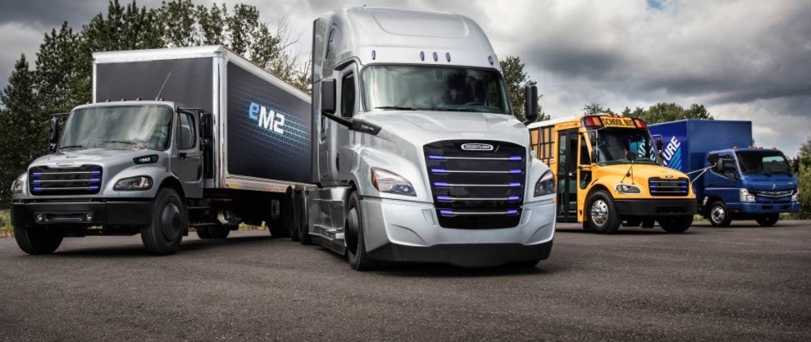 camions électriques Freightliner