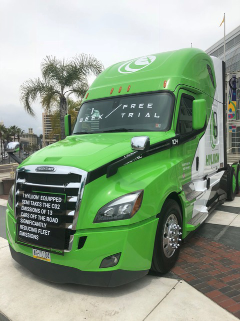 camions hybrides