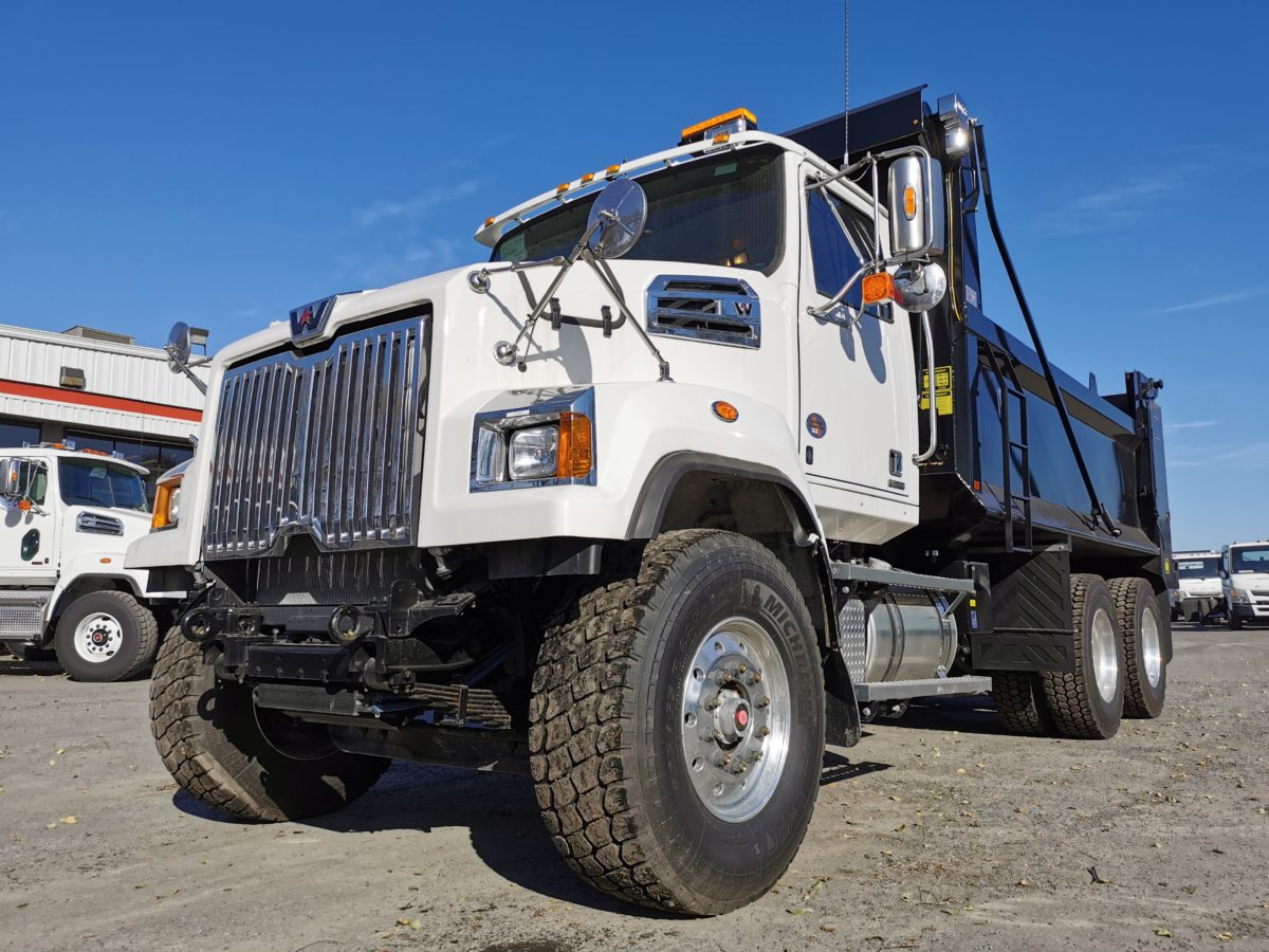 Western Star 4700 Set Forward 2020 benne 15 pieds