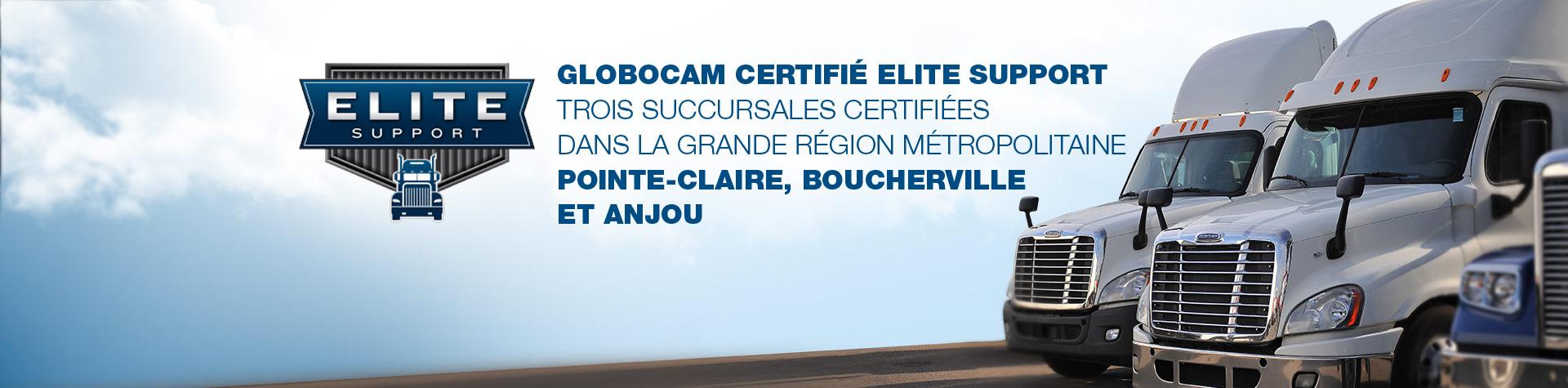 Globocam Élite Support
