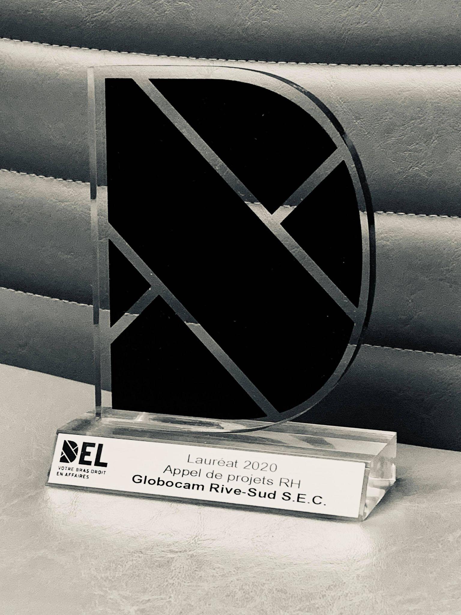 Trophée DEL Globocam Rive-Sud sec